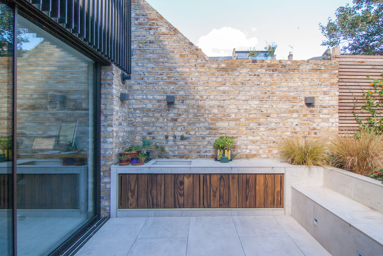 woodworker studio and house extension renovation london