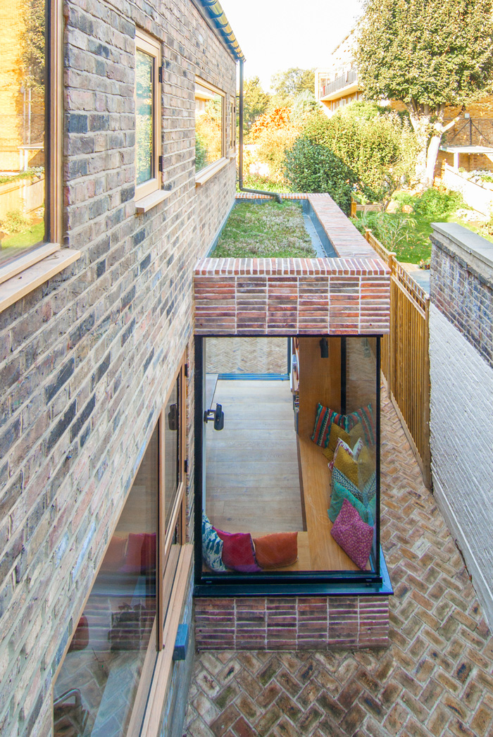 Grass-Sedum-Roof-Corner-Glazing-Brick-Slips-Leytonstone-London-House-Renovation-Refurbishment